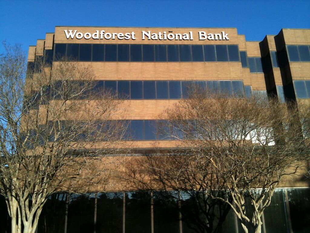 woodforest bank login