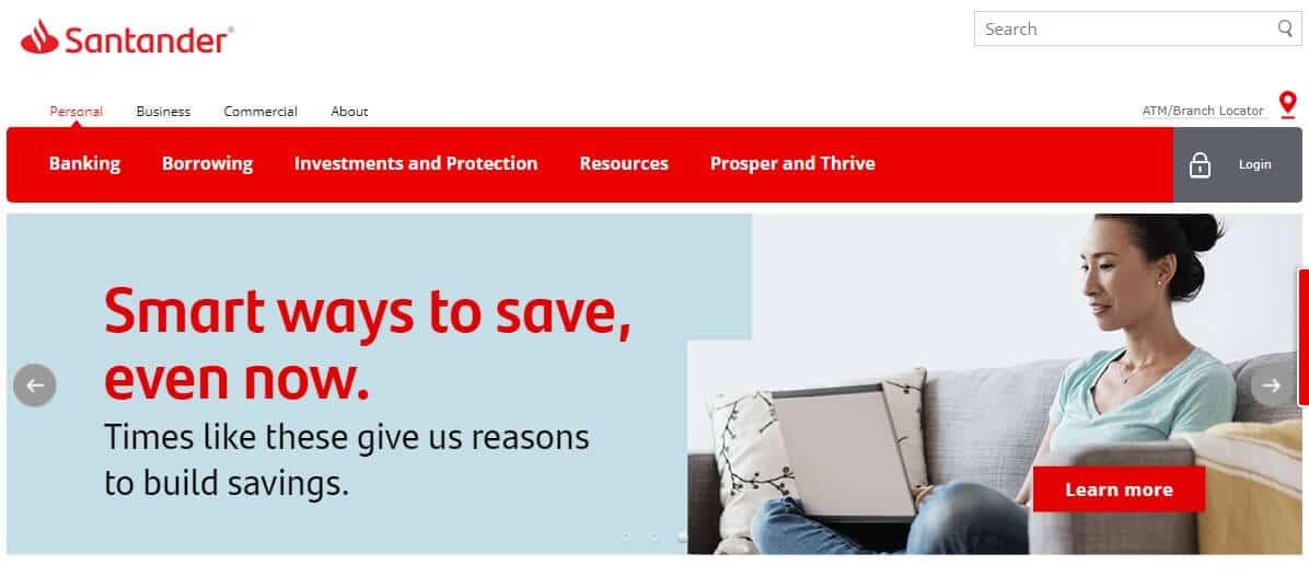 Santander Bank hours