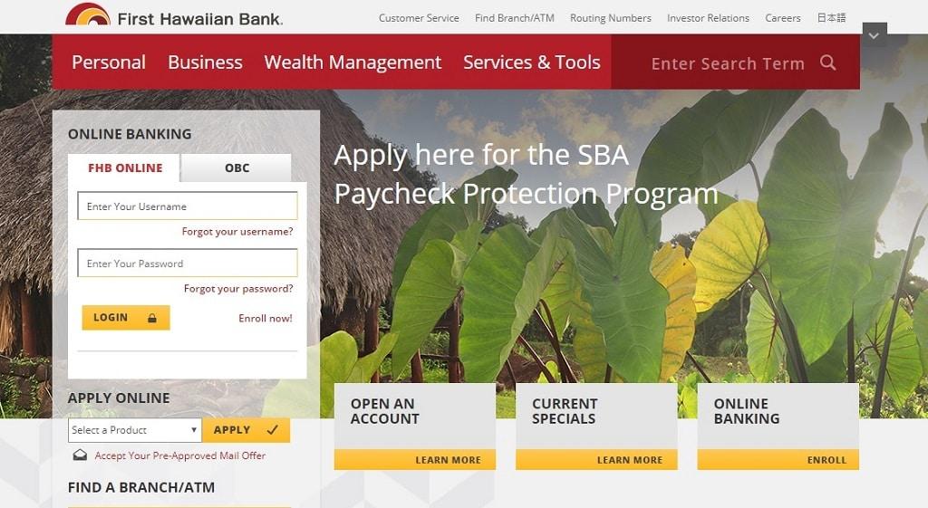 First Hawaiian Bank Hours