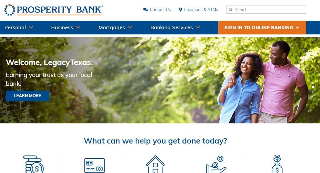 Prosperity Bank hours
