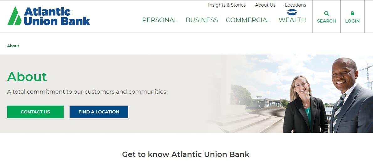 Atlantic Union Bank Hours
