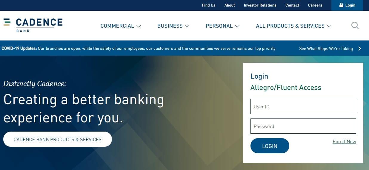 Cadence Bank Hours